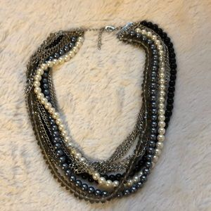Jewelry - Chain and Bead Strand Necklace